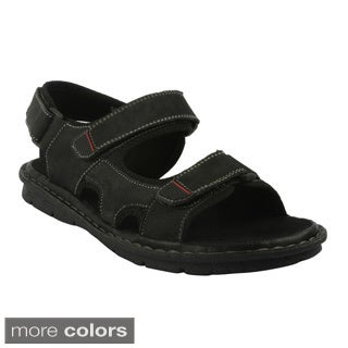J's Awake Men's 'Diego-03' Double Strap Casual Sandals