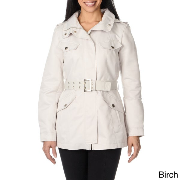 Kensie Women's Webb Belted Jacket