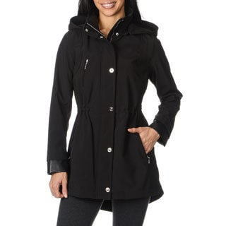 Kensie Women's Soft Shell Anorak Jacket