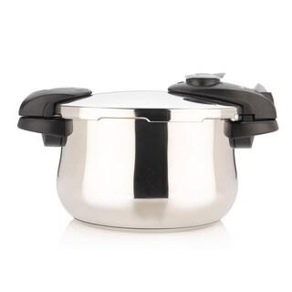 4-quart Stainless Steel Pressure Cooker