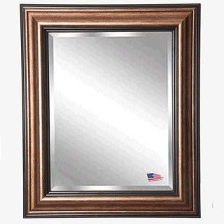American-made Rayne Traditional Bronze Mirror