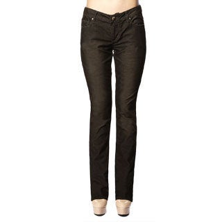 Stitch's Women's Black Low Waist Denim Skinny Ankle Jeans