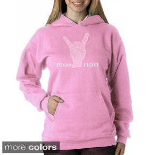 Los Angeles Pop Art Women's Texas Fight Sweatshirt