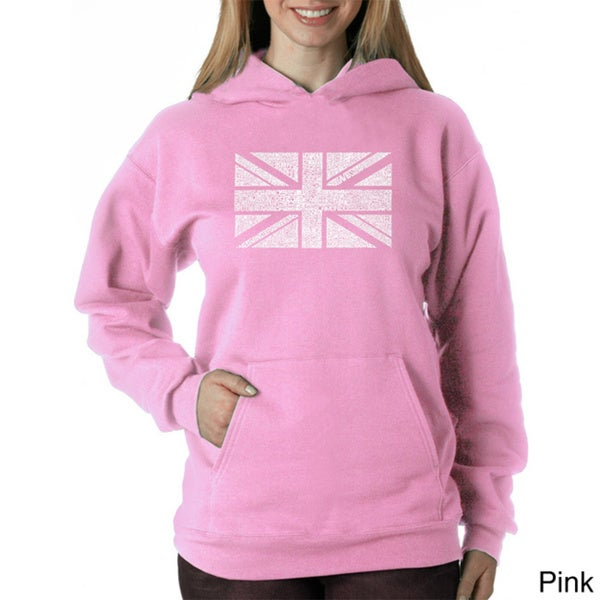 Los Angeles Pop Art Women's Union Jack Sweatshirt