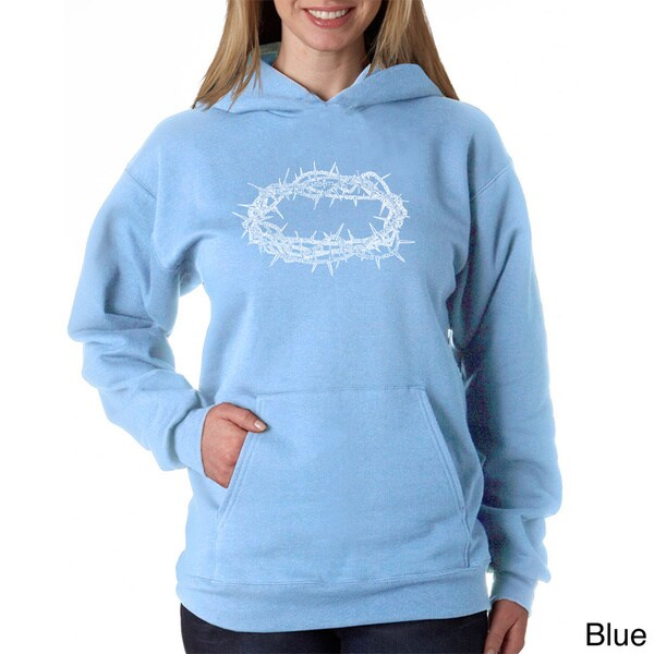 Los Angeles Pop Art Women's Crown of Thorns Sweatshirt 12643600