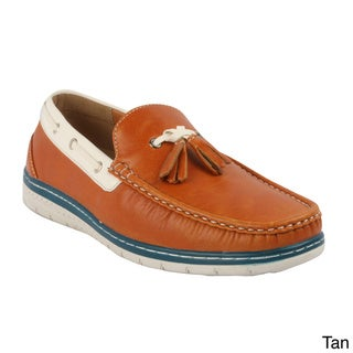 J's Awake 'Micheal-61' Men's New Fashion Comfort Boat Shoes Loafers