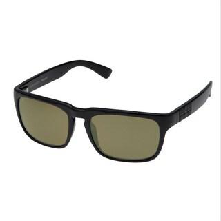 Serengeti Men's 'Cortino' Shiny Black Polarized Fashion Sunglasses