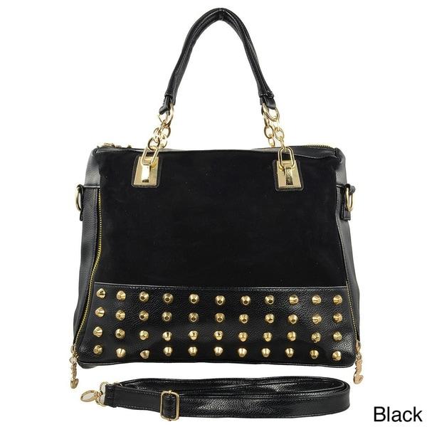 Oasis 'Erika' Studded Convertible Shoulder Bag