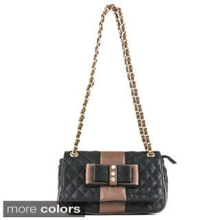 Oasis 'Adria' Quilted Top-flap Mini Crossbody Bag