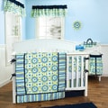 Trend Lab Waverly Solar Flair 5-piece Crib Bedding Set