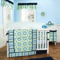 Trend Lab Waverly Solar Flair 5-piece Crib Bedding Set