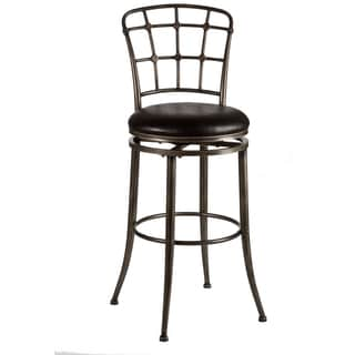 Claymont Pewter Rubbed Back Stool