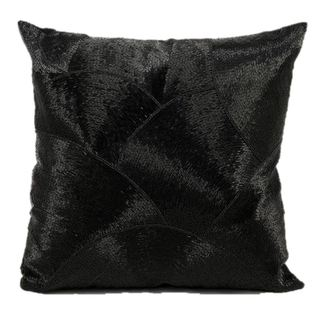 Mina Victory Luminescence Black 20-inch Throw Pillow