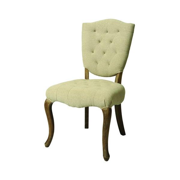 Philadelphia Distressed Cream Side Chair