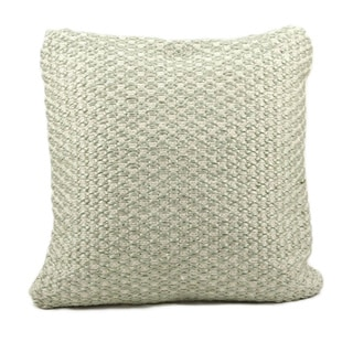 Nourison Mina Victory Green Woven Luster Throw Pillow