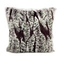 Mina Victory Faux Fur 18-inch Throw Pillow