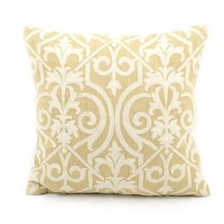 Nourison Mina Victory Yellow Lifestyle Throw Pillow