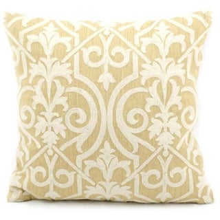 Nourison Mina Victory Yellow Lifestyle Throw Pillow