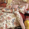 Jacobean Floral 6-piece Cotton Comforter Set