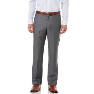 Perry Ellis Portfolio Men's 'Luxe Elite' Modern Fit Solid Herringbone Pants