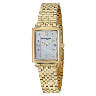 Raymond Weil Women's 'Tradition' Yellow Gold PVD Coated Stainless Steel Swiss Quartz Watch