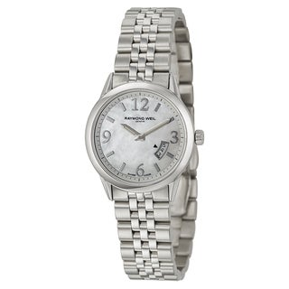 Raymond Weil Women's 'Freelancer' Stainless Steel Swiss Quartz Watch