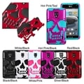 BasAcc Hybrid Skullcap Case for LG D500 Optimus F6/ MS500 Optimus F6