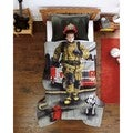 Fire Fighter Twin-size 2-piece Comforter Set