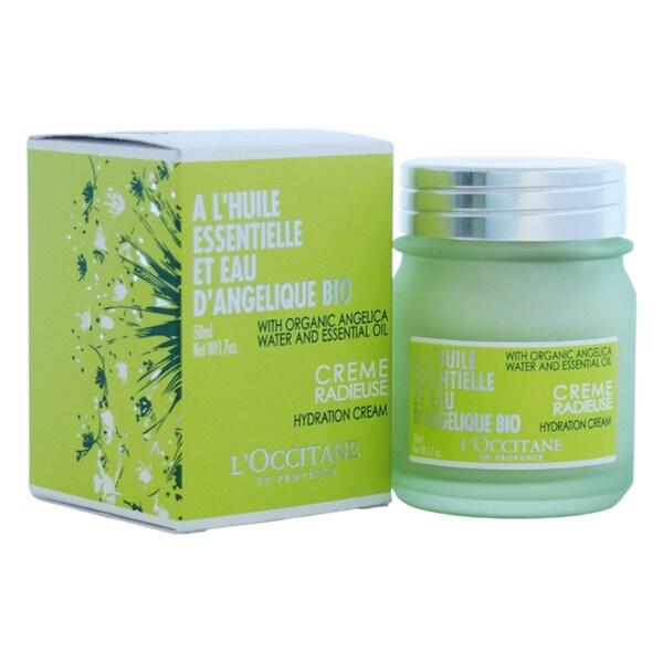 L'Occitane A L'Huile Essentielle et Eau D'Angelique Bio Hydration 1.7-ounce Cream