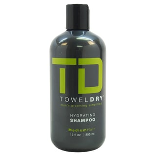 Towel Dry Men's 12-ounce Hydrating Shampoo