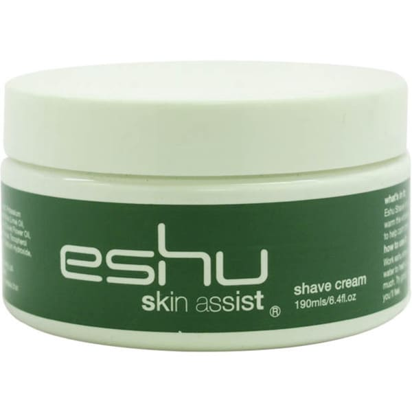 Eshu Skin Assist Men's 6.4-ounce Shave Cream