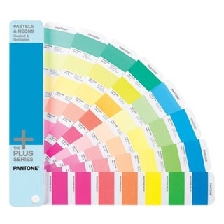 Pantone PASTELS & NEONS Coated & Uncoated Reference Printed Manual