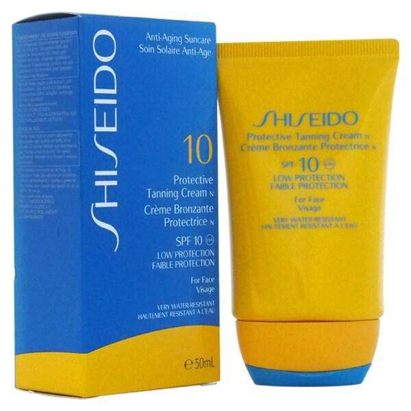 Shiseido Protective Face Tanning 1.7-ounce Cream SPF 10
