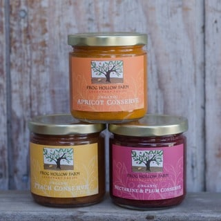 Frog Hollow Farm Organic Harvest Trio of Conserves