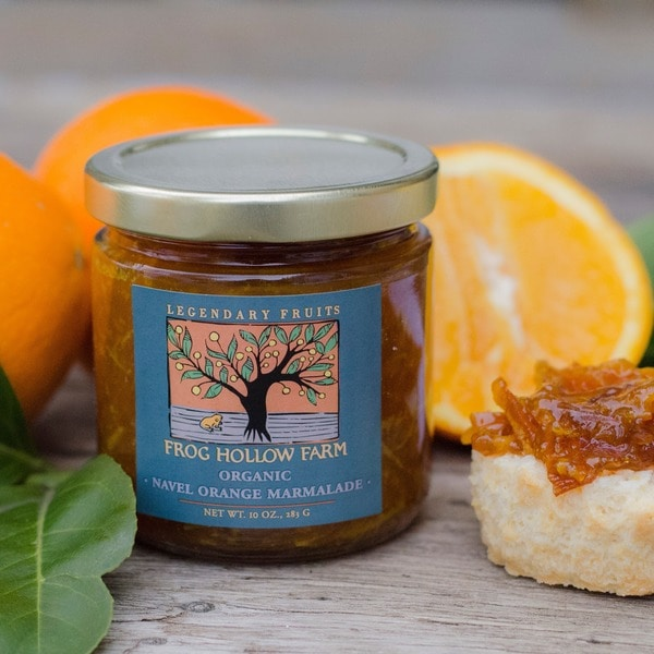 Frog Hollow Farm Organic Navel Orange Marmalade (Pack of 3)
