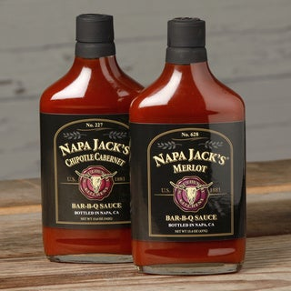 Napa Jack's Chipotle Cabernet and Merlot Bar-B-Q Sauce Assortment