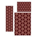 Ashley Contemporary Geometric 3-piece Area Rug Set