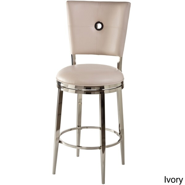 Montbrook Faux Leather Keyhole back Swivel Stool  : Bar Height Ivory Counter Height Ivory Montbrook Faux Leather Keyhole back Swivel Stool f16dd31a c21c 43f5 9562 8ef85d8fbbbe600 from www.overstock.com size 600 x 600 jpeg 11kB