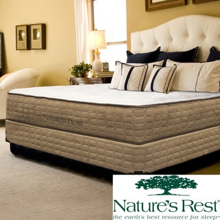 Natures Rest Tranquil Luxury Firm Full-size Latex Mattress Set