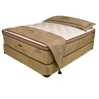 Natures Rest Virtue Luxury Plush EuroTop Queen-size Latex Mattress Set