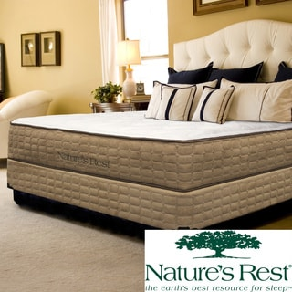 Natures Rest Tranquil Luxury Firm Queen-size Latex Mattress Set