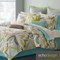 Echo Status Cotton 3-piece Comforter Set with Euro Sham Sold Separate