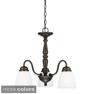 Northbrook 3-light Chandelier with Satin Etched Glass