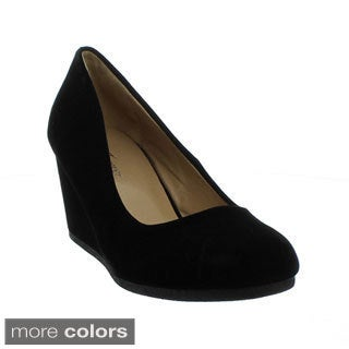 Forever Women's 'Patricia-02' New Hot Fashion Round Toe Wedge Pumps
