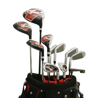 Nextt Golf Z1 17 Piece Mens Left Hand Bag and Club Set