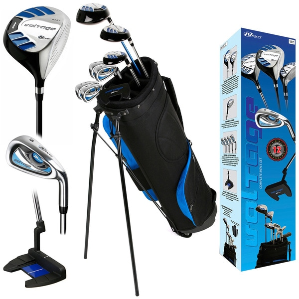 Nextt Golf Voltage 12 Piece Mens Left Hand Bag and Club Set