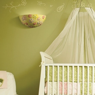 Kid's Room Collection 1-light Flower Wall Sconce