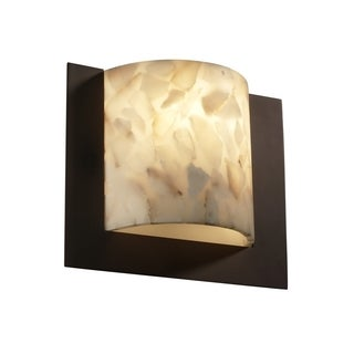 Alabaster Rocks! Framed 1-light Wall Sconce