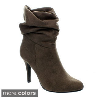 Forever Women's 'Muffy-95' Stiletto Heel Ankle Booties