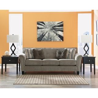 Signature Design by Ashley Denham Mercury Sofa and Accent Pillows